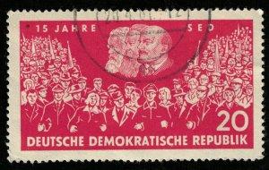 DDR, 20 Pfg., 1961, MC #821 (T-7350)