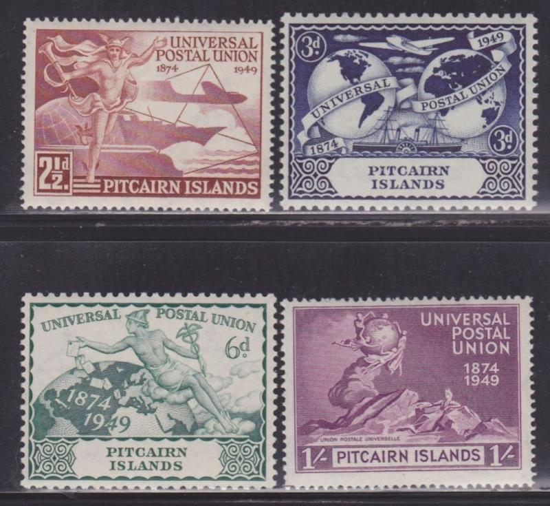 Pitcairn Is 13-16 Set VF lightly hinged nice colors scv $ 44 ! see pic !