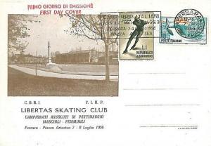 SPORT -  HOCKEY: POSTAL HISTORY - ITALY 1956