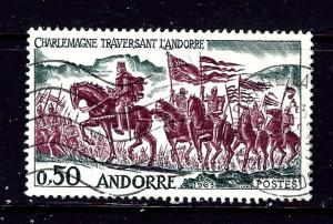 French Andorra 156 Used 1963 issue