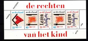 Netherlands souv. sheet B649a mnh