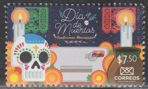 MEXICO DIA DE MUERTOS (DAY OF THE DEAD), 2019. MNH VF.