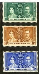 BAHAMAS  97-9 MH SCV $1.75 BIN $.75 ROYALTY