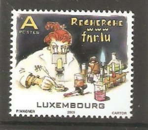 2009   LUXEMBOURG  -  SG  1850 -  NATIONAL RESEARCH FUND  - UMM