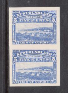 Newfoundland #91P XF/NH Plate Proof Pair