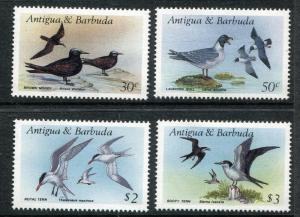 Antigua & Barbuda 1006, 1108, 1011, 1012, MNH, Marine Birds 1987. x29004