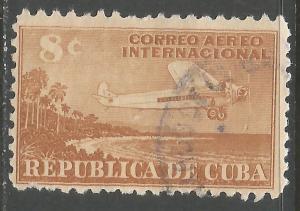 CUBA C40 VFU AIRPLANE Z4-135-9