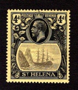 ST. HELENA  SC# 95  FVF/MOG