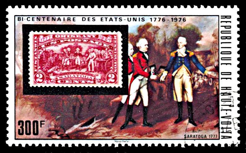 Upper Volta 357, CTO, United States Bicentennial