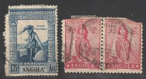 Angola Used lot of fillers