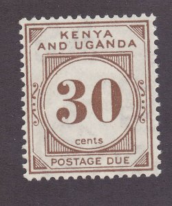 Kenya Uganda & Tanzania J4 Mint 1931 30c Postage Due Issue Very Fine