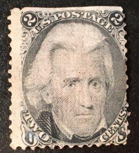 85B Jackson, 13 x 18 Z grill, unused, prev. hinge, Vic's Stamp Stash