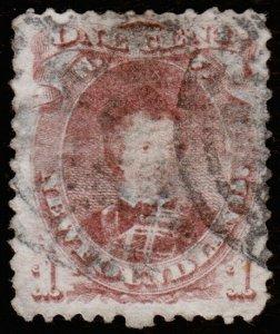 Newfoundland Scott 32 (1868) Used F, CV $60.00 C