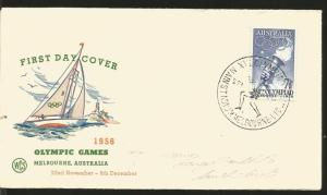 O) 1956 AUSTRALIA, 16TH OLYMPIC GAMES MELBOURNE-1956, SOUTHERM CROSS OLYMPIC TOR