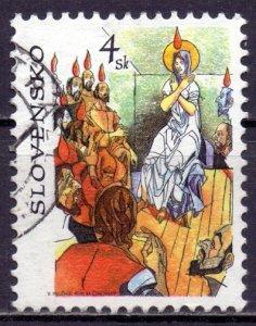 Slovakia. 1998. 310. Bible motives. USED.