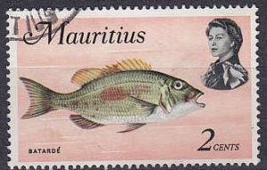 MAURITIUS [1969] MiNr 0331 Y ( O/used ) Fische
