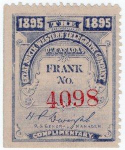 (I.B) Canada Telegraphs : Great North Western (1895)