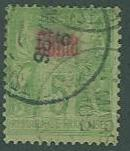 France Off in CHINA SC# 2 Peace & Commerce, 5c, Type I Used