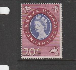 KUT 1960/62 £1 VFU SG 198