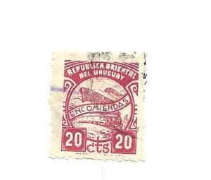 Uruguay 1954 - U - Scott #Q80