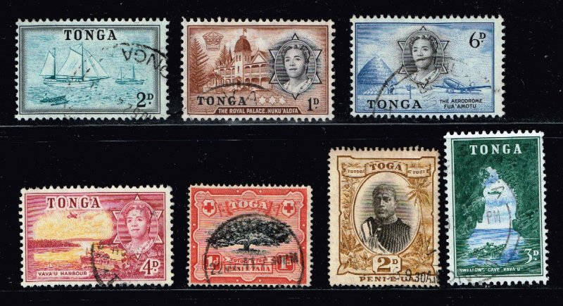 UK STAMP TONGA STAMPS COLLECTION LOT  #S1