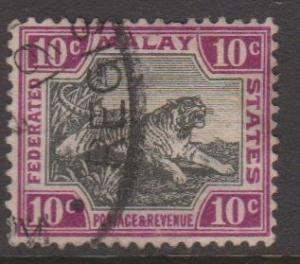Malaya Federation Sc#31c Used