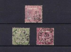 EARLY BADEN   STAMPS ON  STOCK CARD   REF R1056