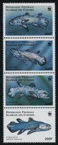 Comoro Islands 833 MNH Fish, WWF, Coelacanth