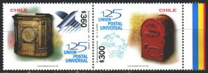 Chile. 1999. 1913-14. 125 years of UPU. MNH.
