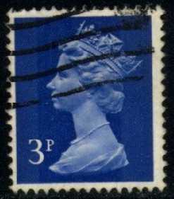Great Britain #MH36 Machin Head, used (0.25)