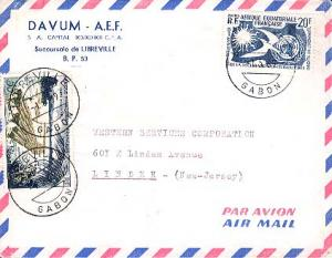 French Equatorial Africa 20F Sun, Dove and UN Emblem and 50F Log Rafts 1969 L...