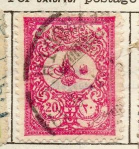 Turkey 1901 Early Issue Fine Used 20p. 181530