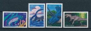 [106069] Grenada 1997 Prehistoric animals dinosaurs fish T-Rex  MNH