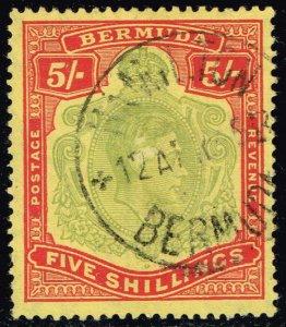 Bermuda #125a King George VI; Used (2Stars)