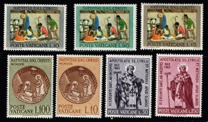 ITALY STAMP VATICAN MNH STAMP COLLECTION LOT #T2