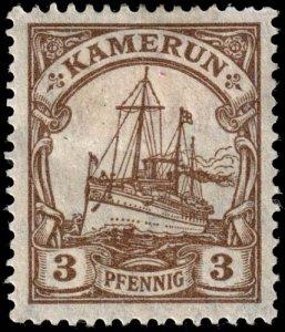 Cameroun - Scott 20 - Mint-Hinged - Paper Adhesion