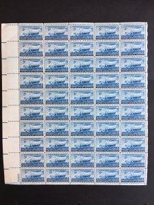 1948 sheet - 5-cent Swedish Pioneers - Sc# 958