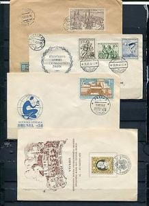 CZ Republic another Lot of FDC and special covers
