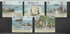 PITCAIRN ISLANDS Queen Elizabeth Era 2009 Return of the Pitcairn Islander