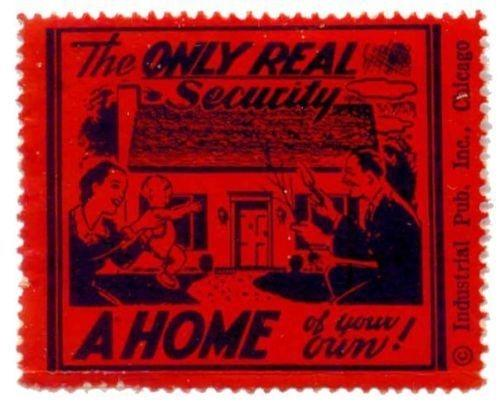 Home Ownership Promotion Poster Stamp