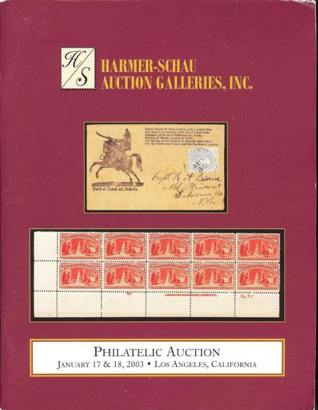 Harmer-Schau:    Worldwide Philatelic Auction, Harmer-Sch...