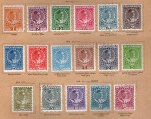 Montenegro Scott 99-110, H4, J23-26 MH* complete 1913 King Nicholas set