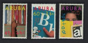 Aruba Education Child Welfare 3v 1991 MNH SG#101-103