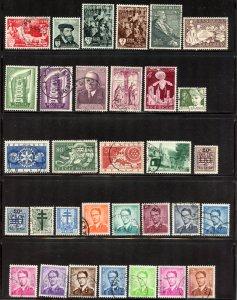 Belgium Lot, Used.