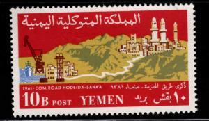 Yemen Scott 126 MNH** 1961 stamp