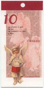Canada - 46c Angel With Drum Booklet mint #BK222a