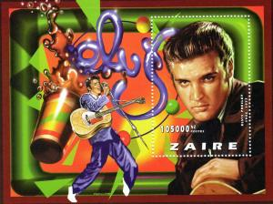Zaire (Congo) 1997 Elvis Presley SS Perf MNH Mi.Block # 72A