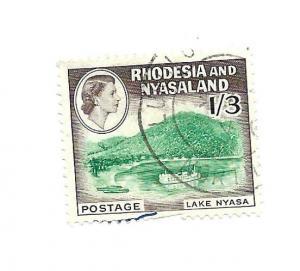 Rhodesia & Nyasaland 1959 - Scott #166