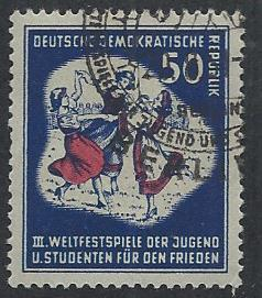 GERMANY - DDR SC# 88 VF/CTO 1951
