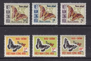 VIETNAM ( SO) ^^^196   MNH   POSTAGE//.DUES  set    $$  @f7972viet2